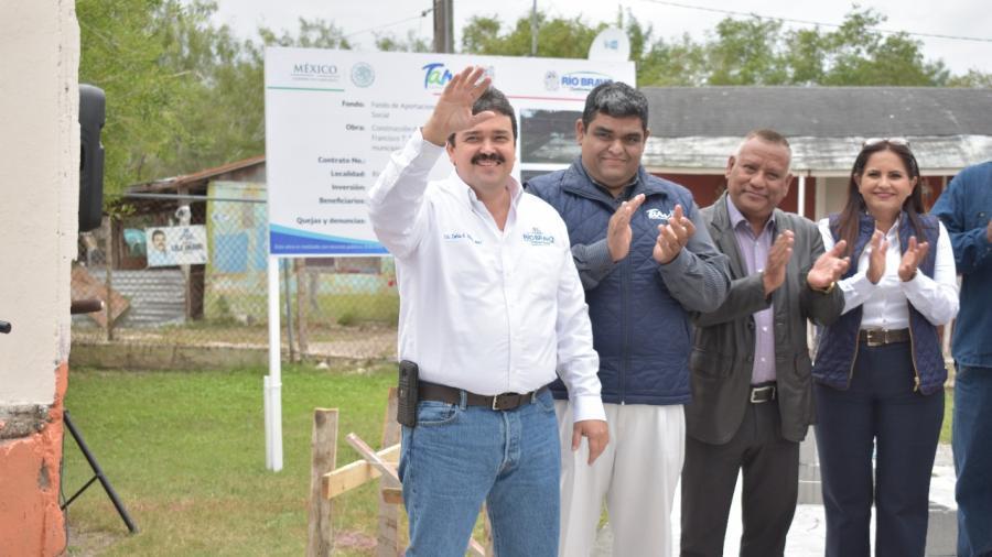 Arranca construcción de comedor escolar en La Posta