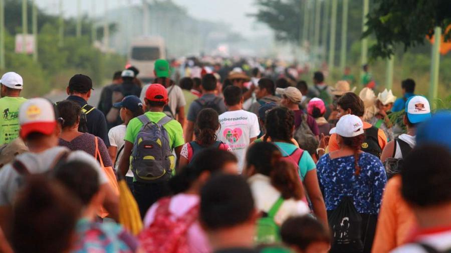 Sin acuerdos en reunión de ONU y representantes de caravana migrante
