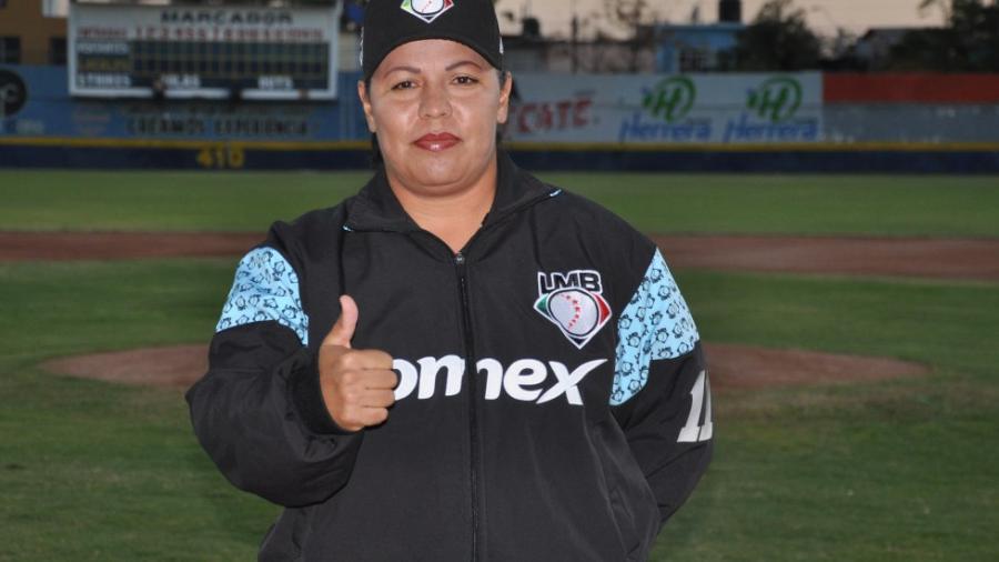 Mujer hará historia en el béisbol mexicano