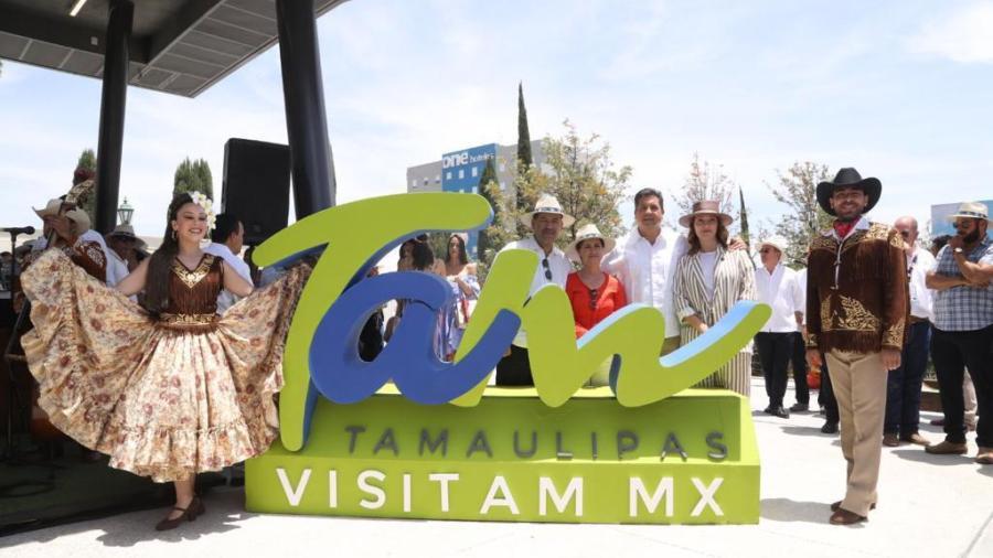 Muestra Tamaulipas sus atractivos en la Feria Nacional de San Marcos