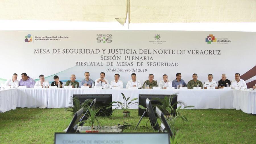 Se reúnen gobernadores de Tamaulipas y Veracruz para establecer estrategia de seguridad