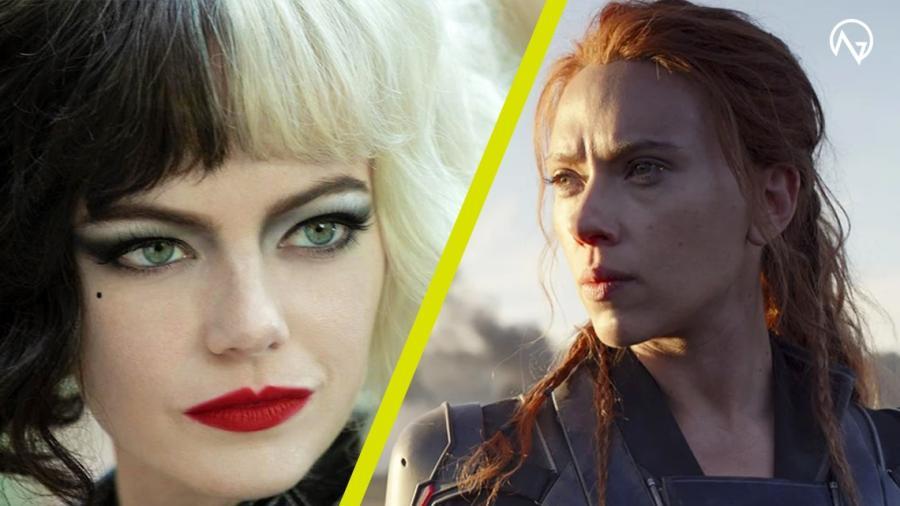 Black Widow y Cruella de Vil llegarán a cines y Disney+ y en simultáneo