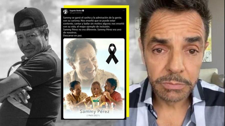 Eugenio Derbez dedica emotivo mensaje a Sammy Pérez