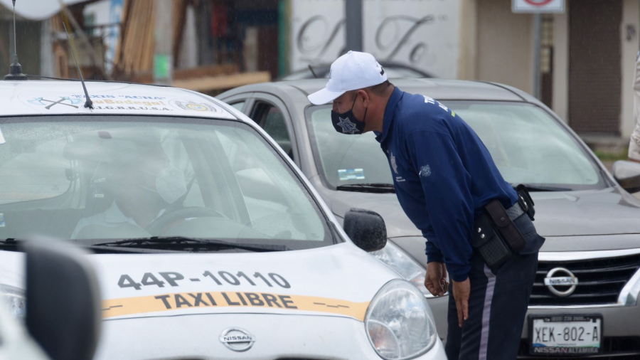 Reanudan en Altamira filtros sanitarios en principales avenidas