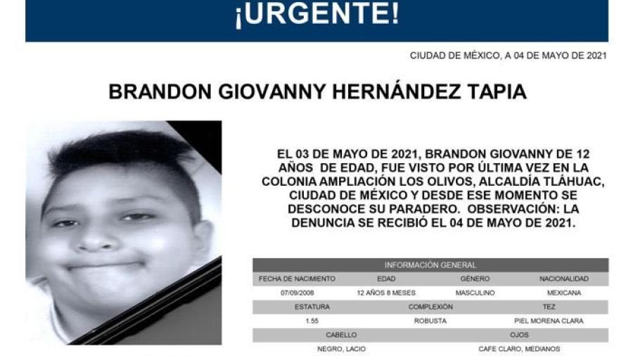 Encuentran sin vida a Brandon Giovanny, menor que quedó atrapado en colapso de la Línea 12