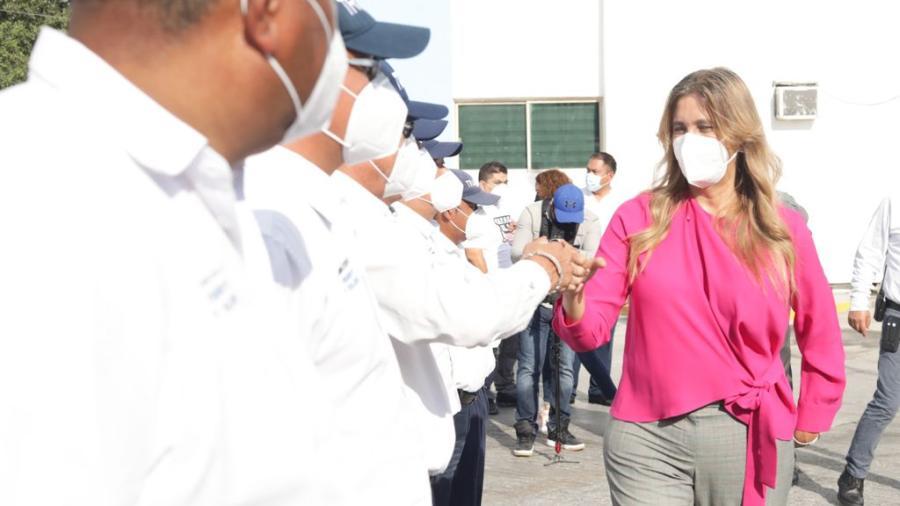 Motiva Maki Ortiz un cuerpo de seguridad vial humano y solidario