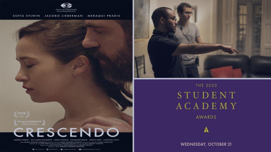 """""""Crescendo"""", cortometraje mexicano gana el  Oscar Estudiantil"""
