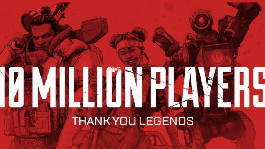 Apex Legends llega a los 10 millones de usuarios en 72 horas