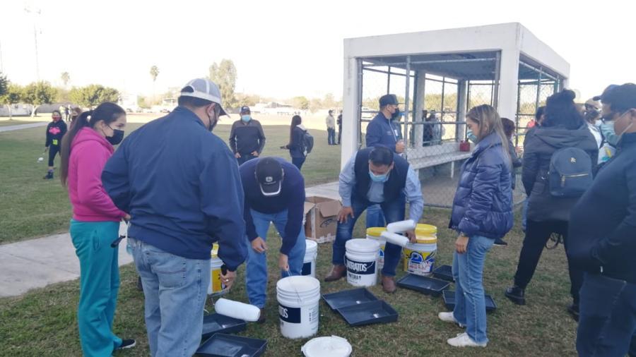 Realizan mega jornada de limpieza en el Centro de Alto Rendimiento de Matamoros