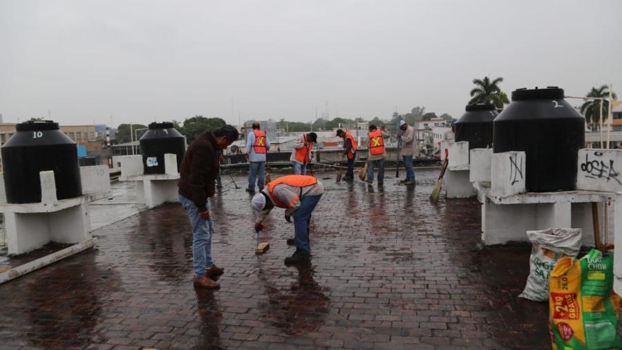Ejerce Oseguera recursos municipales en obra pública