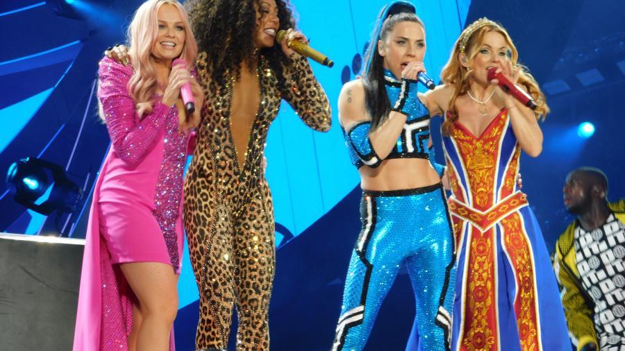 Así fue el regreso de las Spice Girls a los escenarios