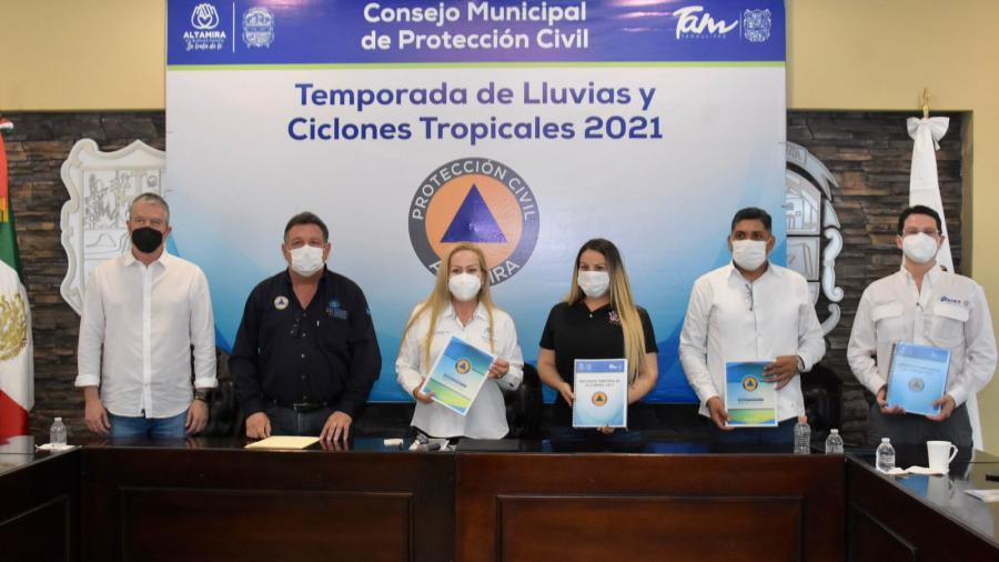 Queda instalado el Consejo Municipal de PC de Altamira
