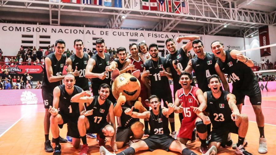 México gana tercer partido en Copa Panamericana de Voleibol