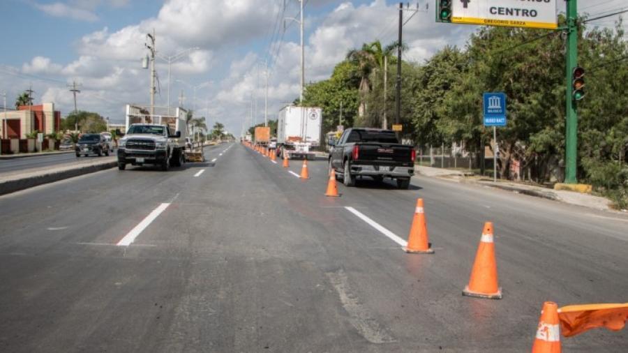 El Gobierno de Matamoros sigue avanzando en la modernización de la avenida Lauro Villar