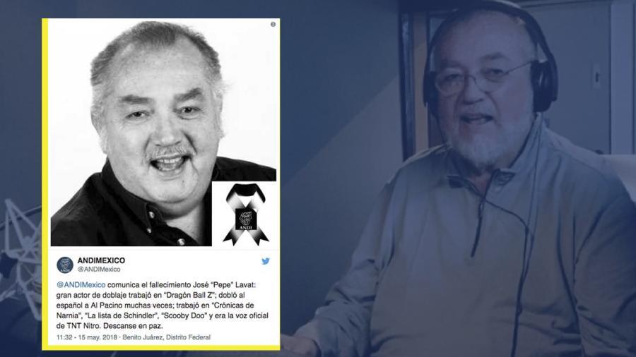 Fallece el actor de doblaje José Lavat, a los 69 años