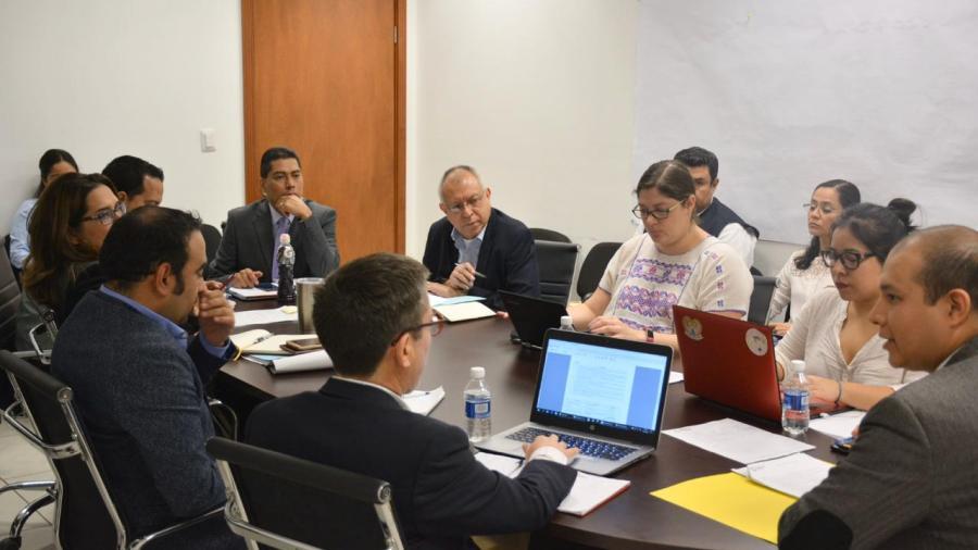 Representantes del Triángulo del Norte se reúnen con FGJT para tratar tema migratorio