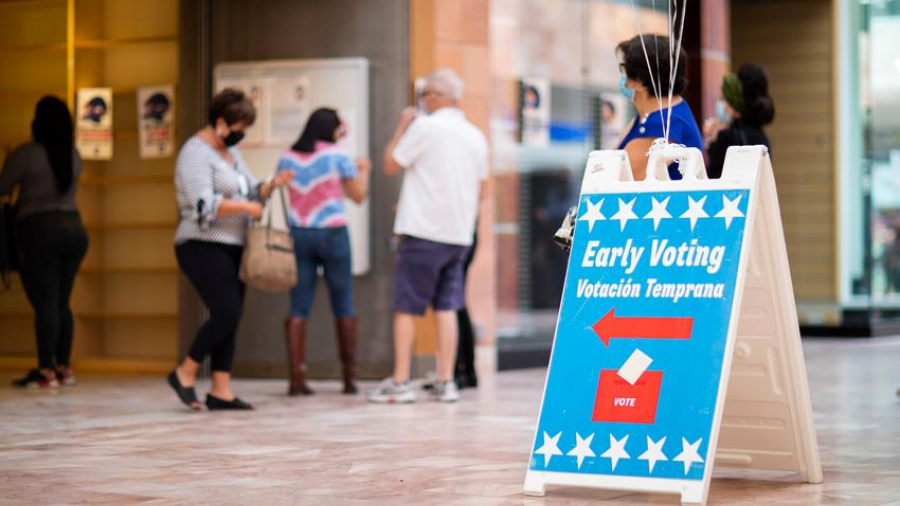 Más de 60 millones de votantes en EU durante votación anticipada
