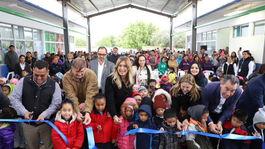 Inversión del Municipio beneficia a alumnos del CAIC Campanario