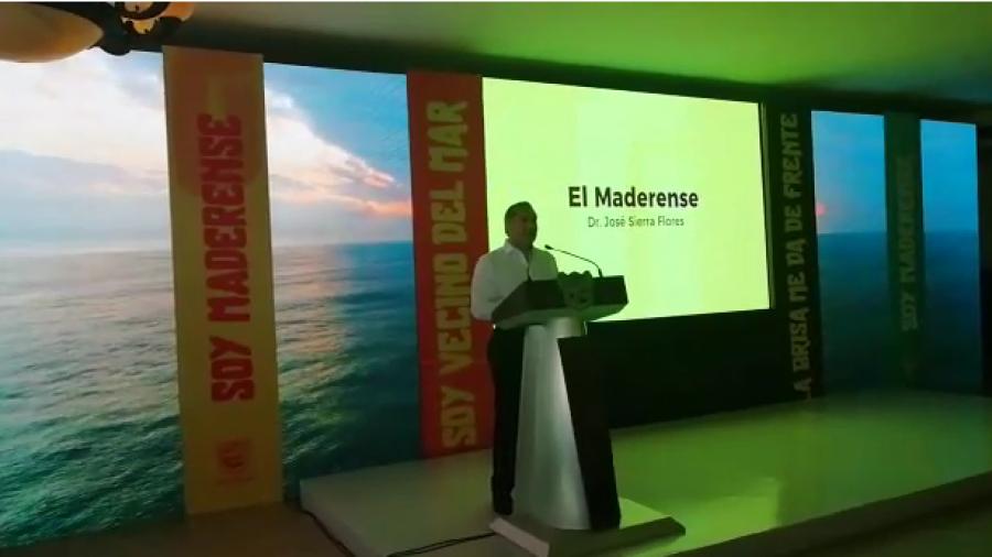 "Presenta Adrián Oseguera marca ""Viva Madero"""