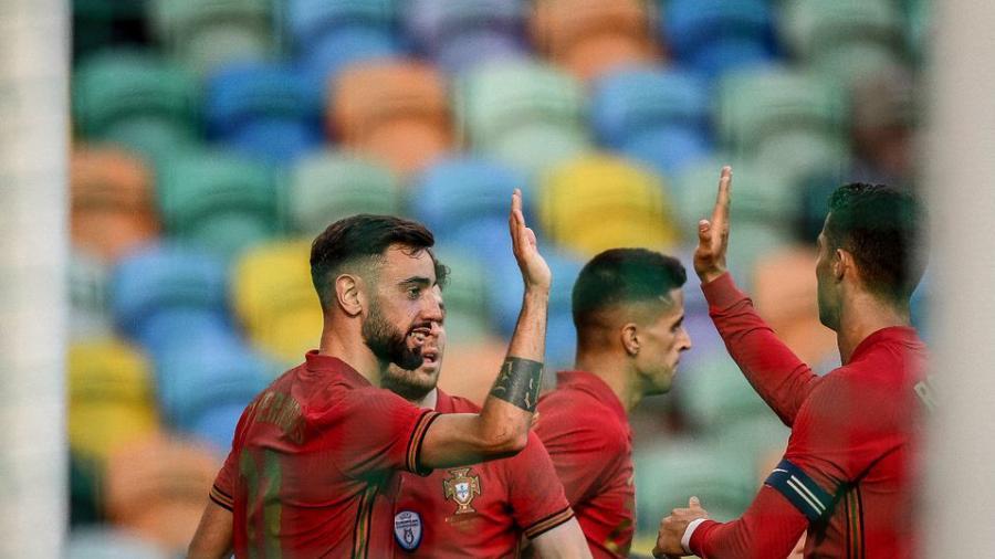 ¡Rumbo a la Euro! Portugal golea a Israel