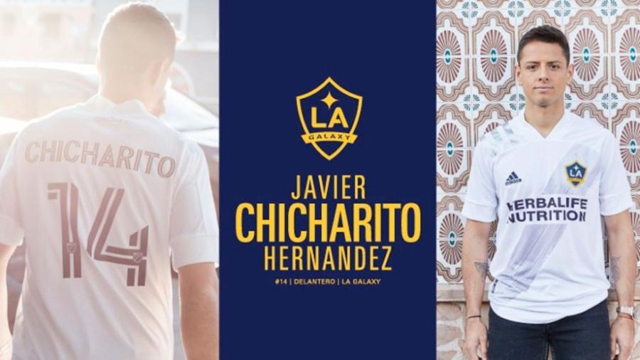 ¡La espera terminó! 'Chicharito' es nuevo jugador del LA Galaxy