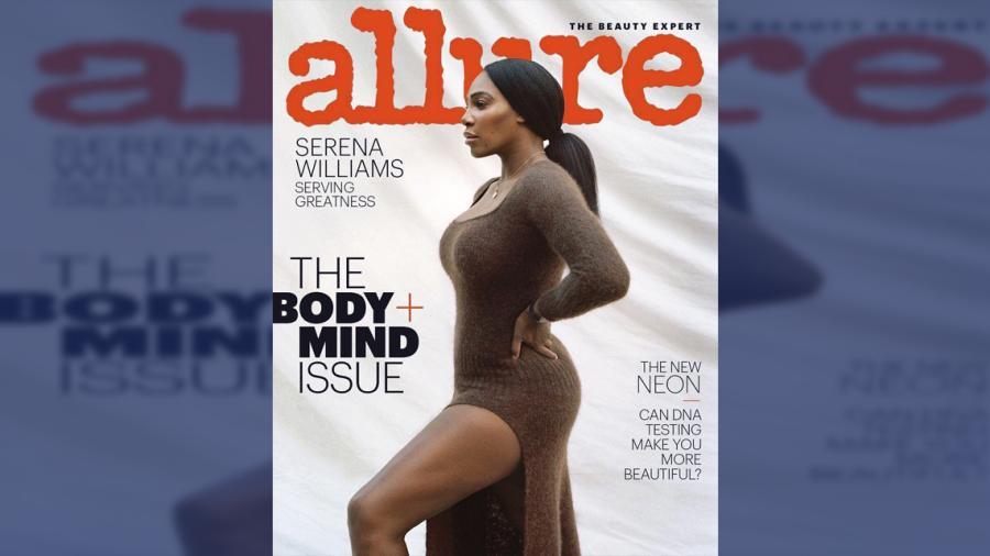 Las imágenes de Serena Williams para Allure