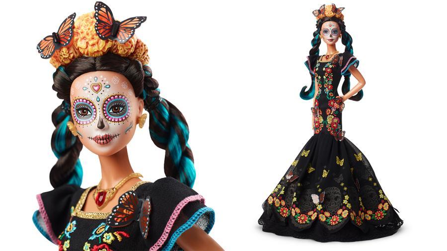Mattel lanza edición especial de Barbie por el Día de Muertos