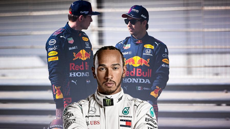 Lewis Hamilton dice que 'Checo' Pérez es 'una preocupación adicional'