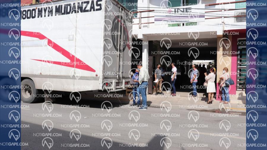 Llegan a Tamaulipas boletas que se utilizarán en la Consulta Popular