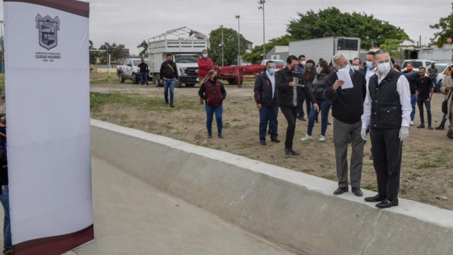 Inauguran en Ciudad Madero importante obra hidráulica