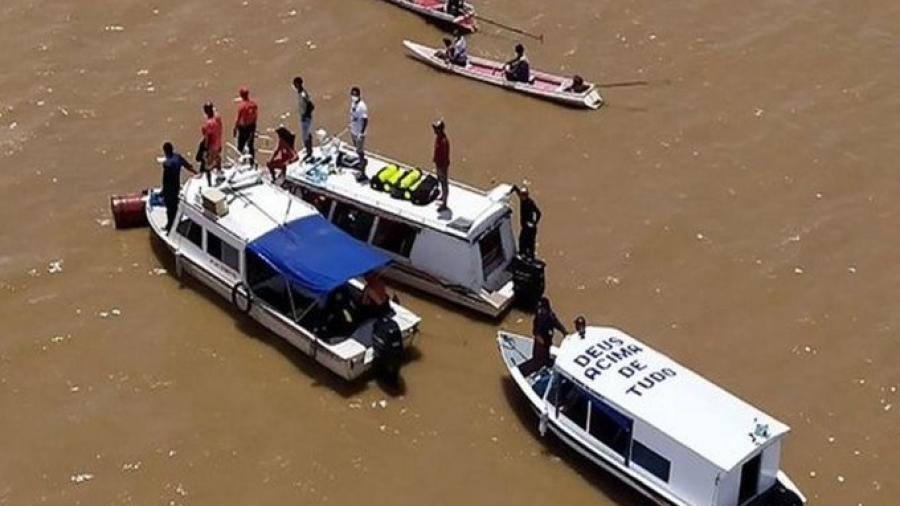 Sube a 29 la cifra de fallecidos por naufragio en el Amazonas