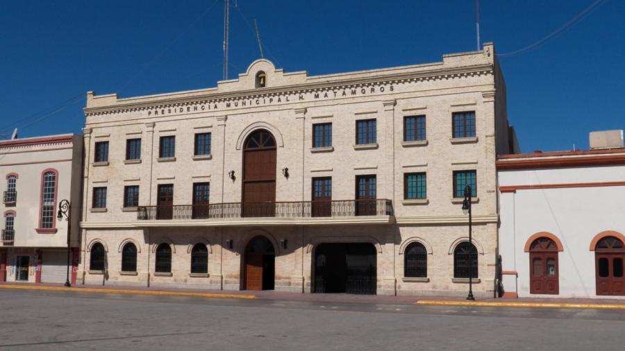 Controlarán los accesos al palacio municipal de Matamoros: Oficialía Mayor