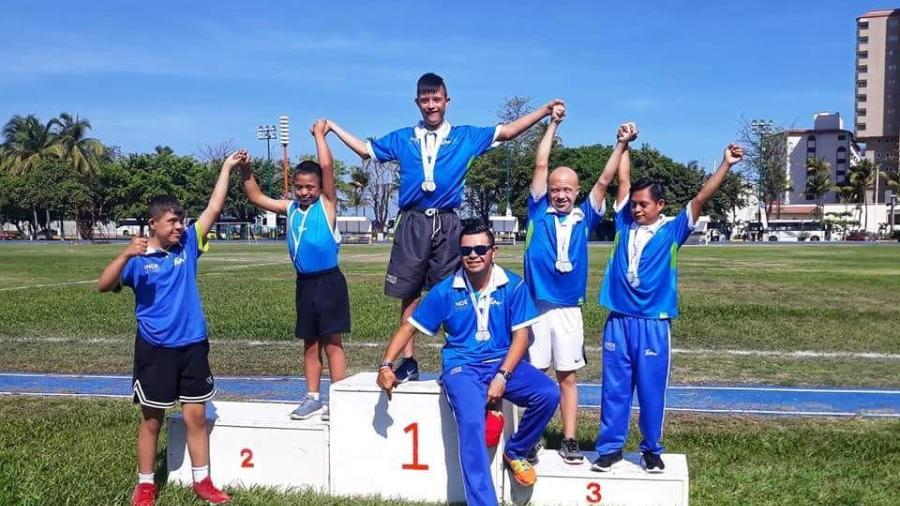 Brillan tamaulipecos, en los Juegos Deportivos Nacionales para atletas con discapacidad