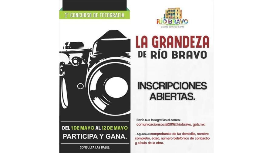 """Inicia la recepción de fotografías """"La Grandeza de Río Bravo"""""""