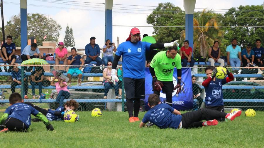 """""""Keeper Zone"""", actividad que desarrolla habilidades para el deporte y la familia"""