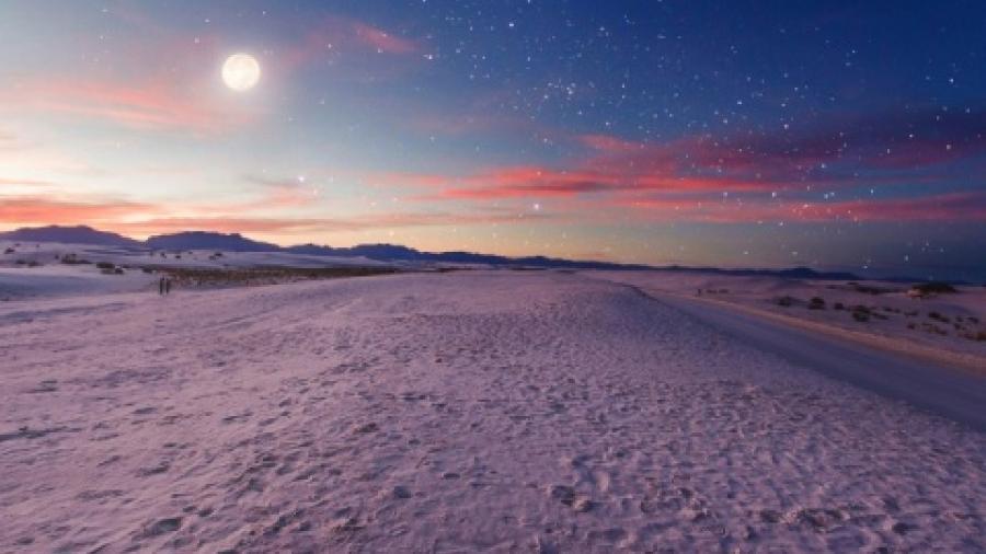 Hoy podrás disfrutar del beso entre Venus y la Luna
