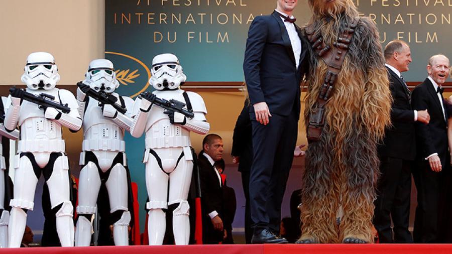 'Star Wars' se apodera de Cannes