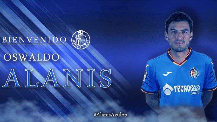 El Getafe ficha a Oswaldo Alanís