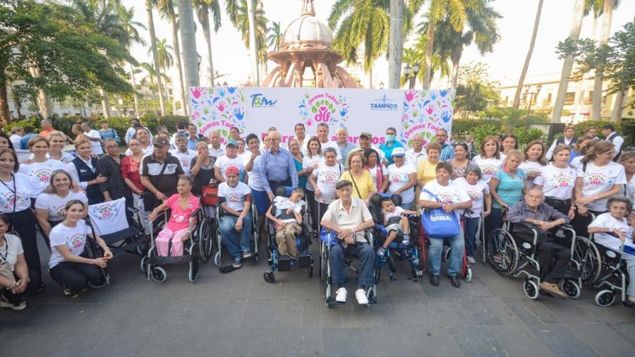 Favorece DIF Tampico la Movilidad de Personas con Discapacidad