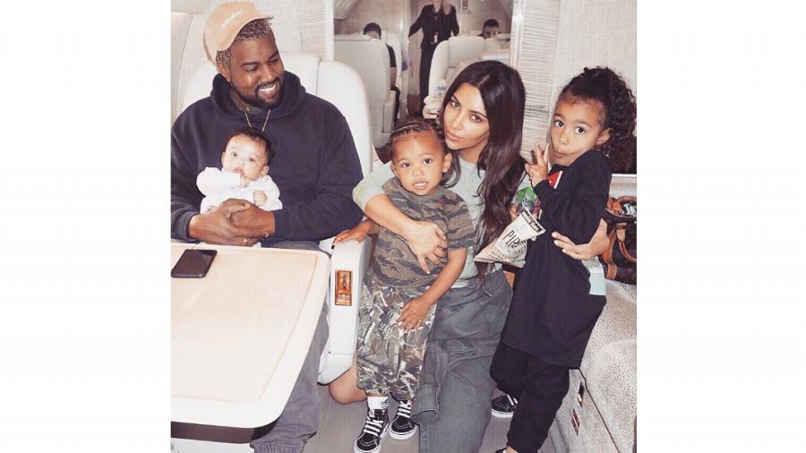 Kim Kardashian y Kanye West esperan a su cuarto bebé