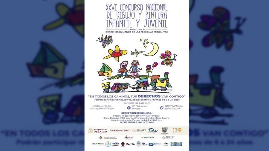 Invitan a XXVI Concurso Nacional de Dibujo y Pintura