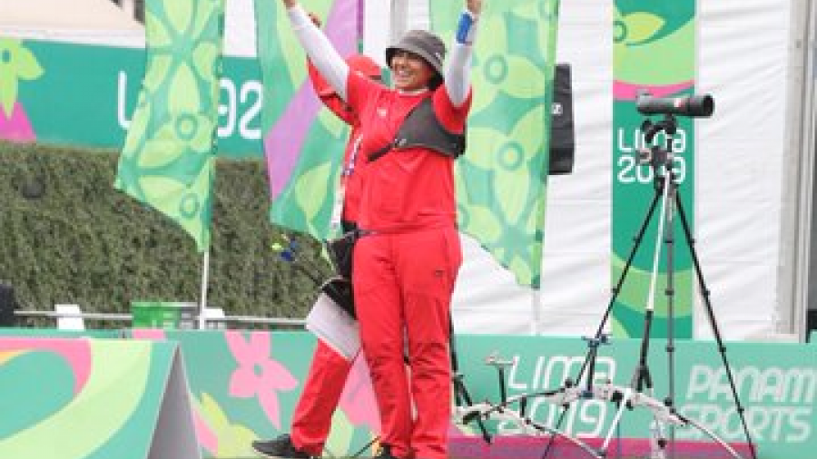 Alejandra Valencia da el último oro a México en Lima