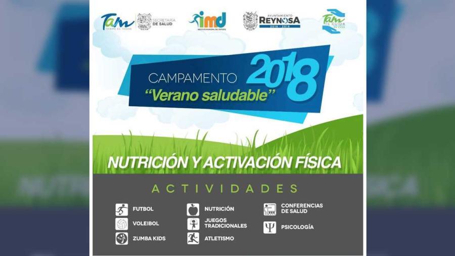 Invita Ayuntamiento a Campamento Verano Saludable