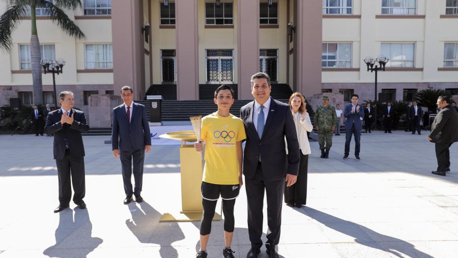 Refrenda Gobernador apoyo al deporte en Tamaulipas