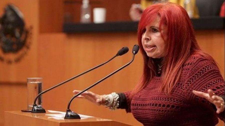 Layda Sansores regresa a sus funciones en el Senado