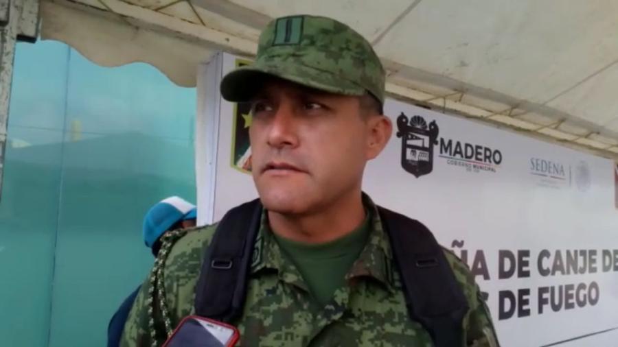 Instalan módulo de canje de armas en Ayuntamiento de Madero