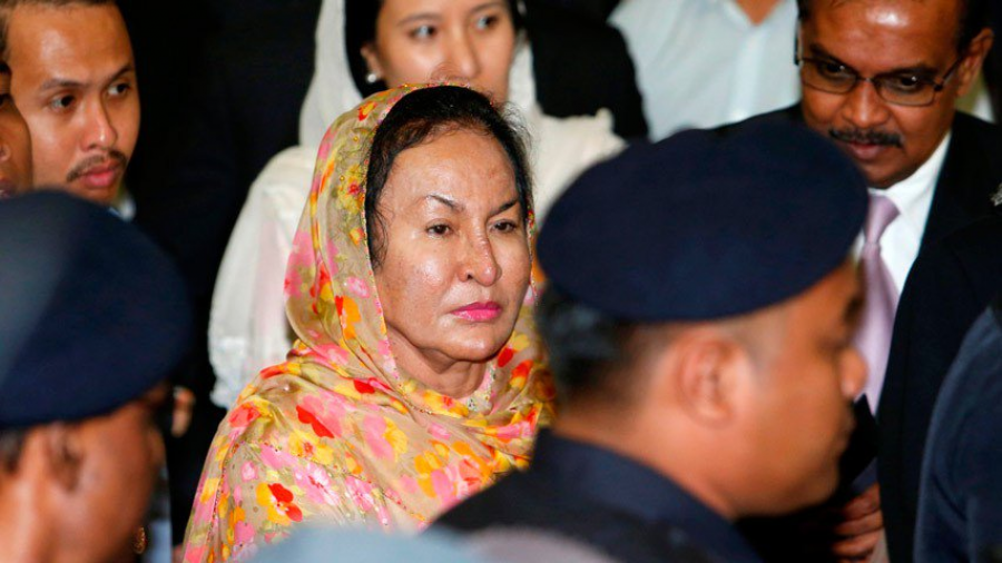 Arrestada esposa de exprimer ministro de Malasia por corrupción