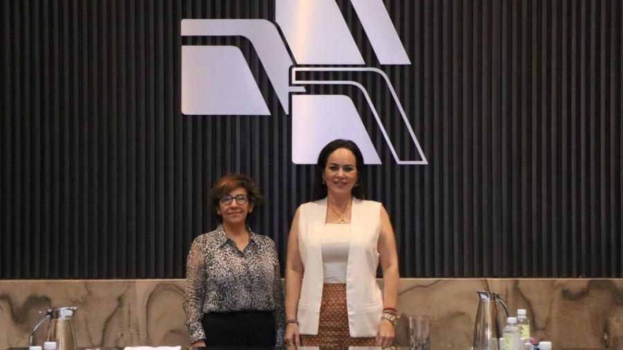 Carmen Lilia y aduanales trabajarán juntos por la competitivad de Nuevo Laredo