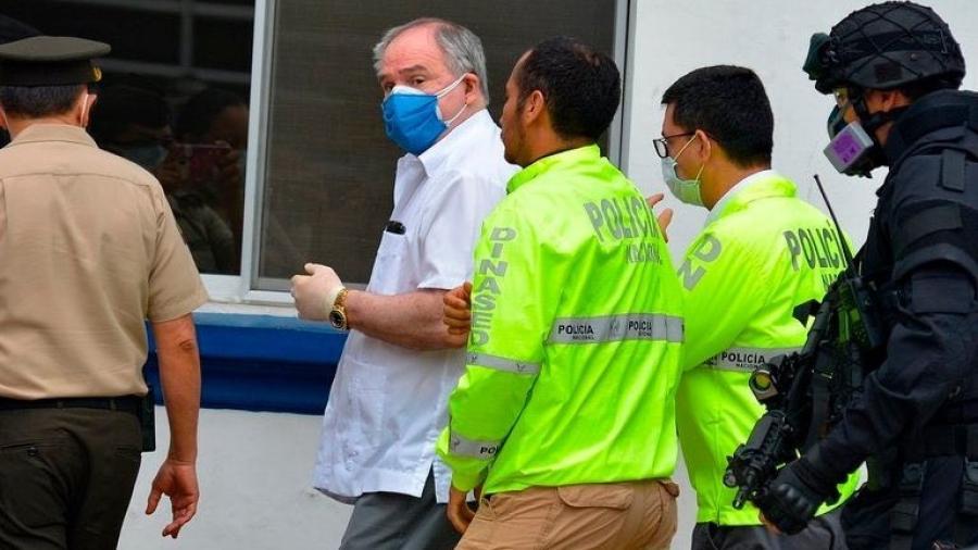 Expresidente ecuatoriano es detenidopor delincuencia organizada