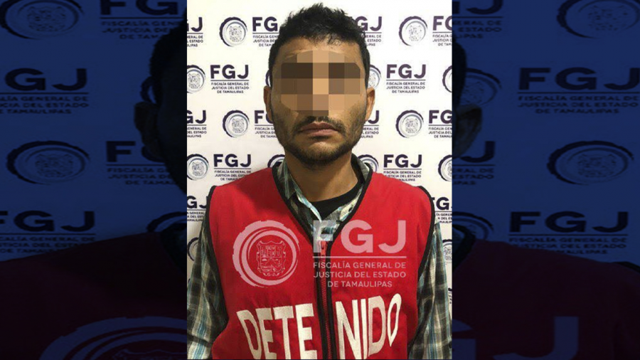 Detienen a sujeto implicado en robo a bancos en Tampico